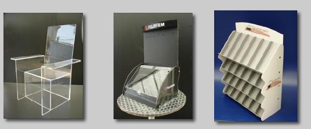 Muebles de acr lico y exhibidores de acrilico sobre dise o for Sillas de acrilico